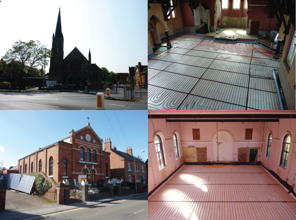 Underfloor Heating Churches