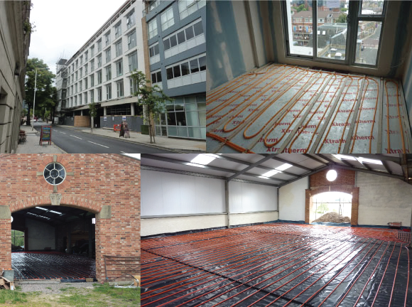 Underfloor Heating Cost Commercial