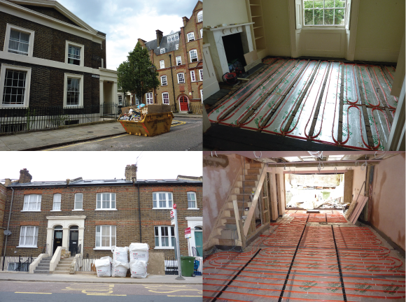 Underfloor Heating Cost Medium Houses